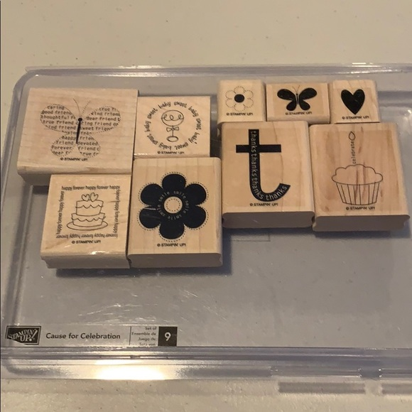 Stampin Up! Cause for Celebration hostess only set
